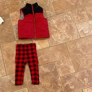Tommy Hilfiger leggings boys to Carter's vest